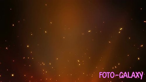 Videohive - Fire Sparks Blackground - 24970333