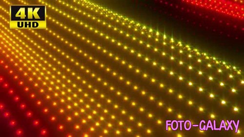 Videohive - Waving Dots Loop Pack - 24768531