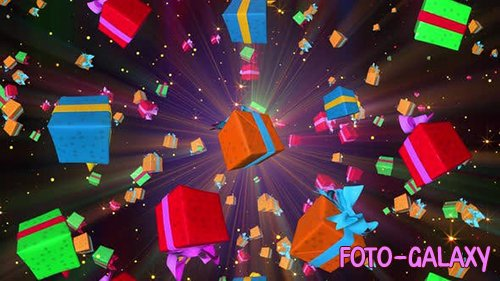 Videohive - 4K Gift Boxes -  25078998