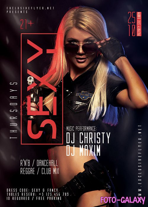 Sexy thursdays - Premium flyer psd template