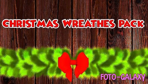 Chistmas Wreaths Pack + Logo Opener 329681 - After Effects Templates