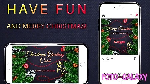 Christmas Greeting Card And Logo Reveal 331598 - After Effects Templates