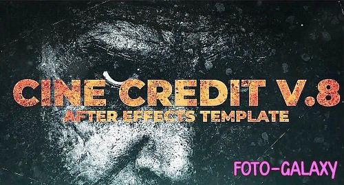 Cine Credit V.8 325752 - After Effects Templates