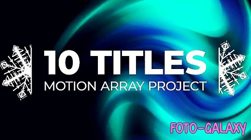 10 X-Mass Titles V2 323047 - After Effects Templates