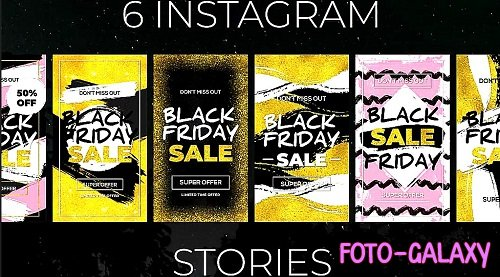 Black Friday Instagram Stories 314693 - After Effects Templates