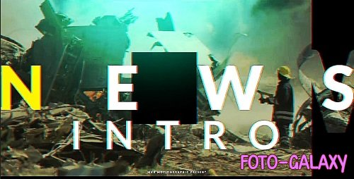 Modern News Opener 320061 - After Effects Templates