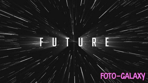 Sci-fi Futuristic Star Logo - Project for After Effects (Videohive)