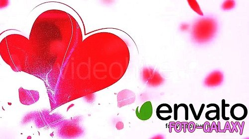 My Valentine Petals Logo Reveal 14320352 - After Effects Templates