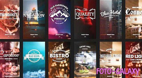 Instagram Stories - Retro Bar 356189 - After Effects Templates