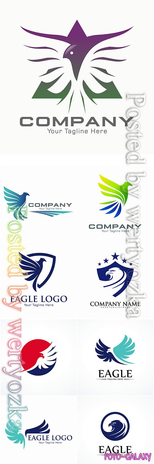Eagle logo vector template