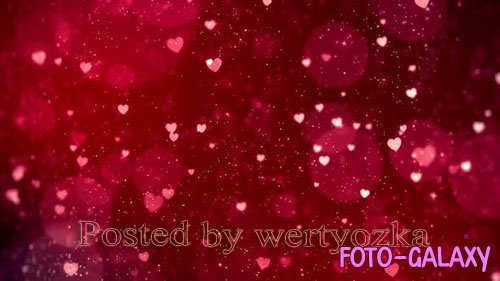 Videohive - Heart Background - 25578180