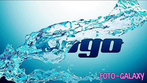 Water Splash Logo 310938 - Premiere Pro Templates