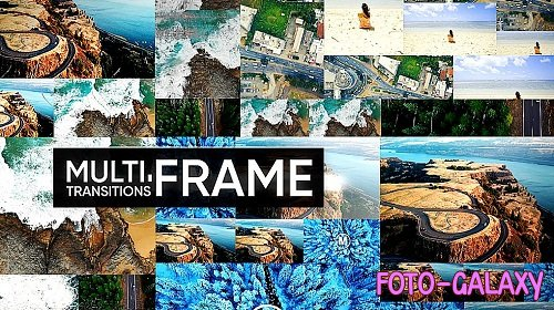 MultiFrame Transitions 310654 - Premiere Pro Templates