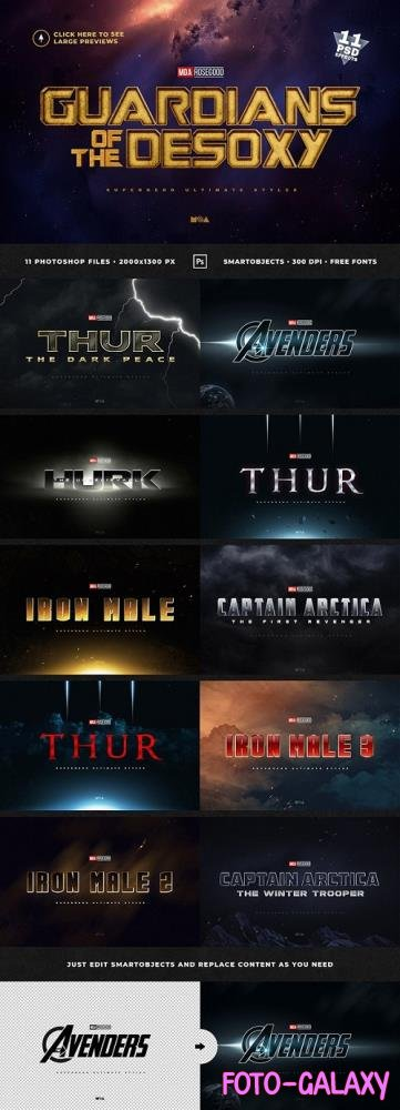 Superhero Ultimate Text Effects vol.1 - 25572702