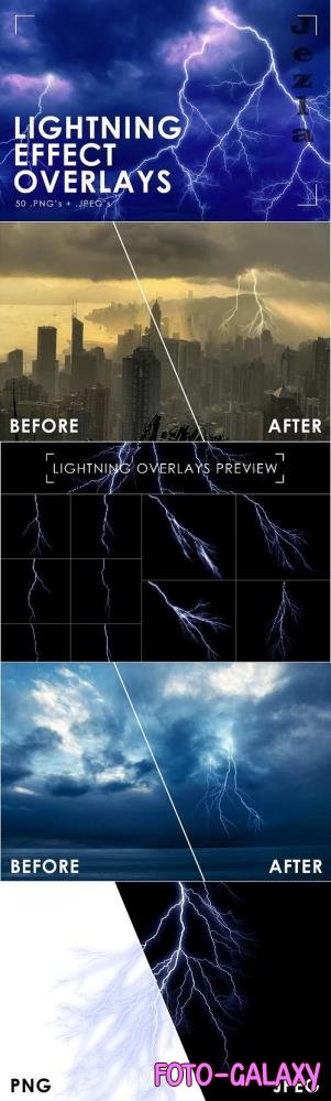 Lightning Effect Overlays - 2407952