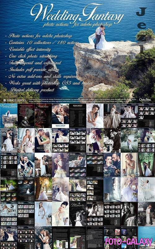 Actions for Photoshop / Wedding - 4469548