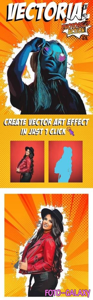 Vectorial Photoshop Action 25663304