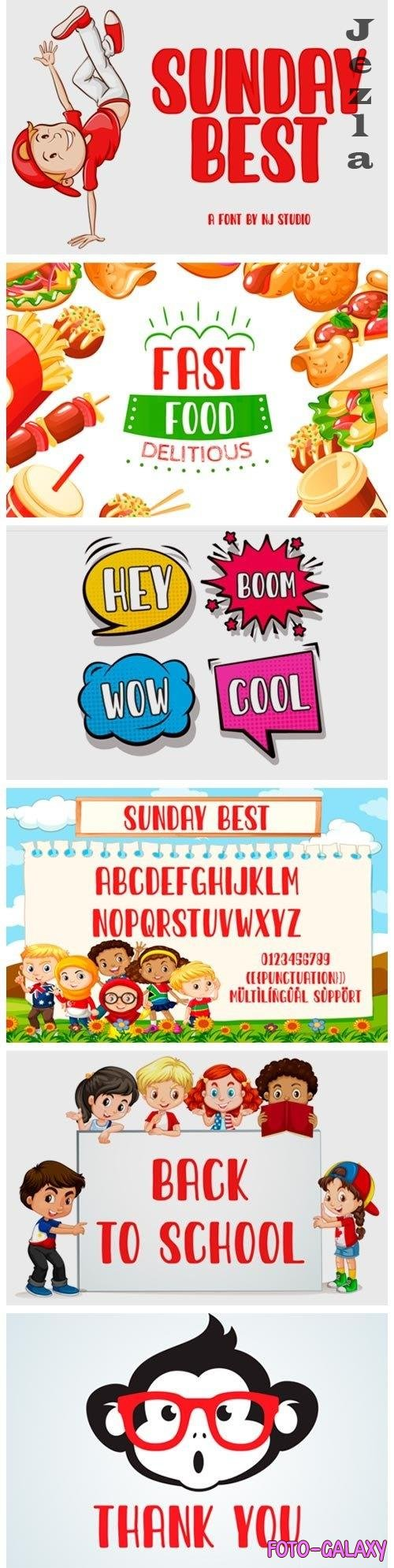 Sunday Best Font