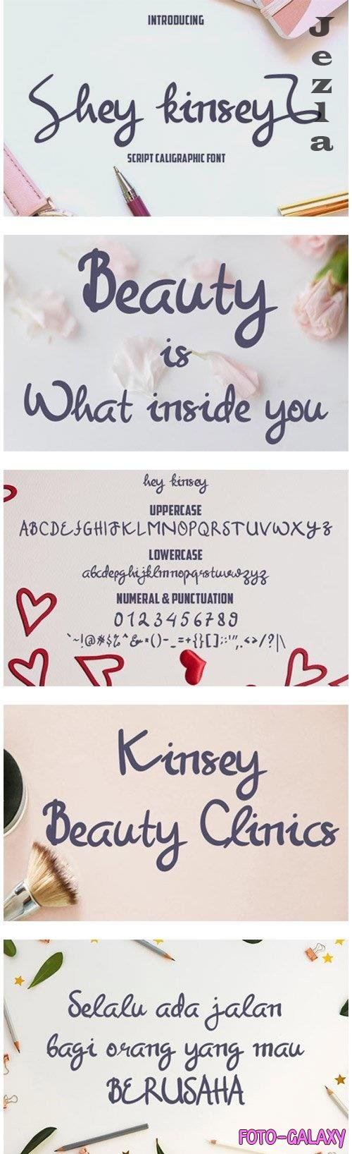 Hey Kinsey Font
