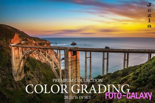 Color Grading LUTs - 3997763