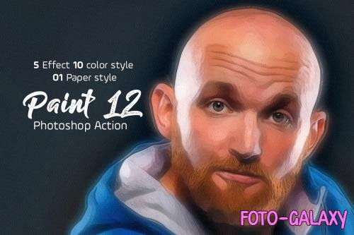 Paint Photoshop Action 5183417