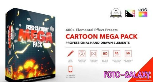 FCPX Cartoon Mega Pack