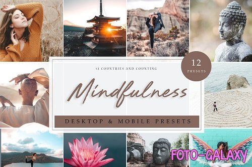 12 x Lightroom Presets | Mindfulness 3912149