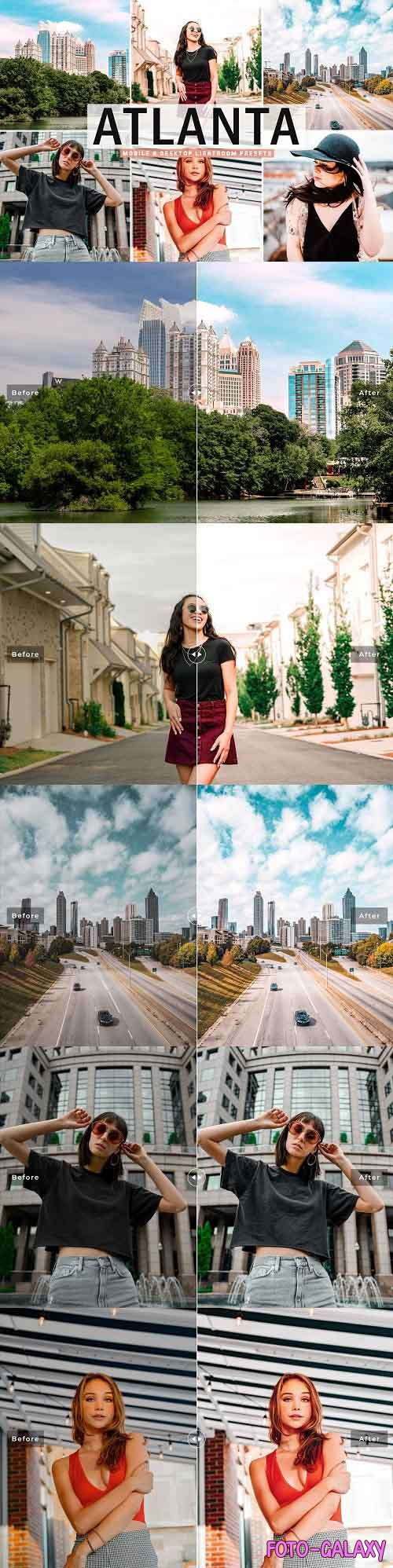 Atlanta Pro Lightroom Presets - 5372395 - Mobile & Desktop
