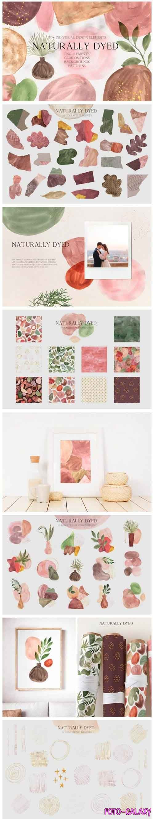 Abstract Modern Watercolor BUNDLE -  5241946