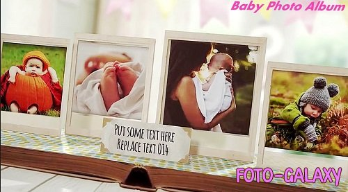 Baby Pop-up Photo Album 356639 - Project for After Effects