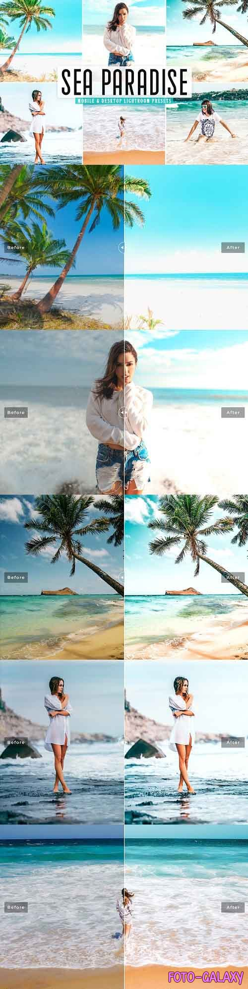 Sea Paradise Pro Lightroom Presets - 5437511 - Mobile & Desktop
