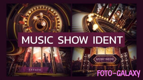 Videohive - Music Show Ident - 28362397