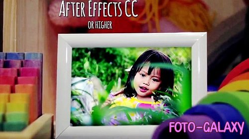 Children Photo Gallery v2 - Project for After Effects