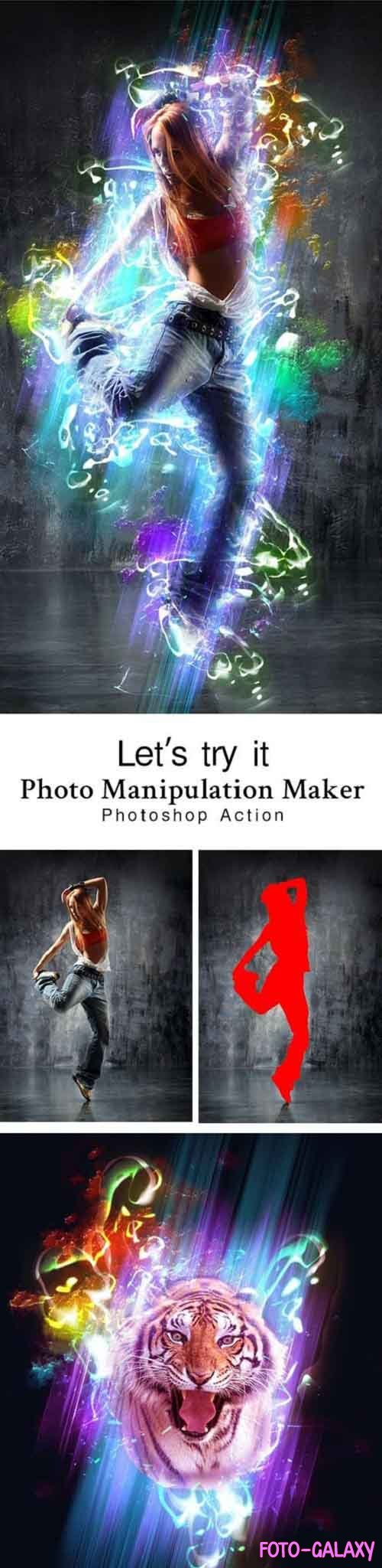 GraphicRiver - Photo Manipulation Maker Photoshop Action 28807039