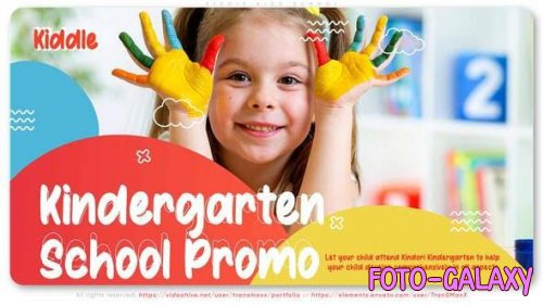 Videohive - Kiddie Kids School - 28805868
