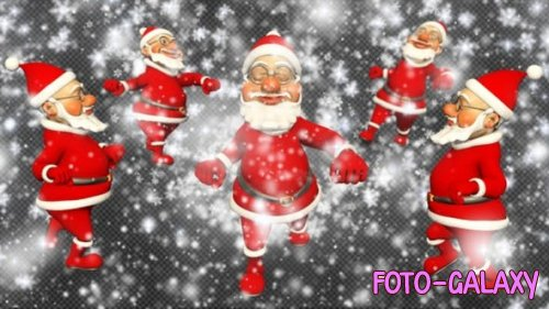 Videohive - Santa Funny Transition (4 Pack) - 22907995