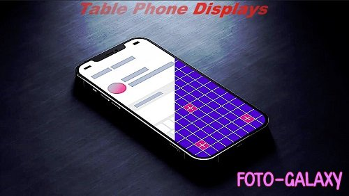 Wooden Table Phone Displays 848418 - Project for After Effects