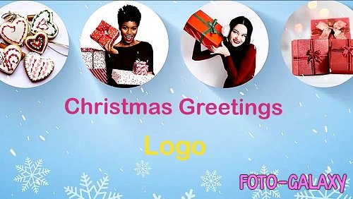 Christmas Greetings Logo Reveal 854236 - Project for After Effects