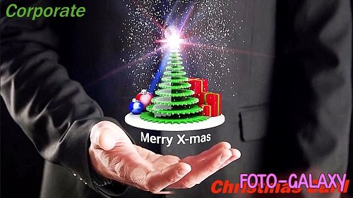 Corporate Christmas Card 4K 878376 - Project for After Effects