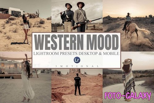 7 Western Mood Mobile and Desktop Lightroom presets - 1137950