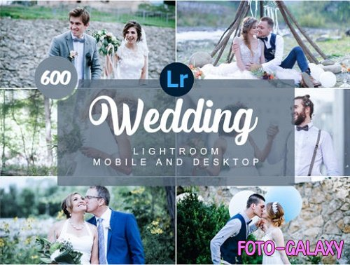 Wedding Mobile and Desktop Presets
