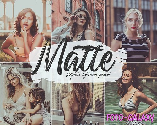 Matte Lightroom Presets - 5739889