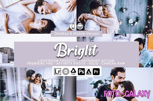 Bright Lightroom Presets - 5156450