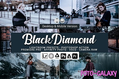 Black Diamond Lightroom Presets - 5156439
