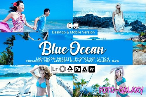 Blue Ocean Lightroom Presets - 5156440
