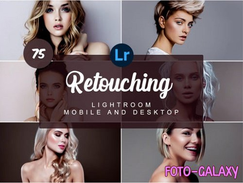 Retouching Mobile and Desktop Presets