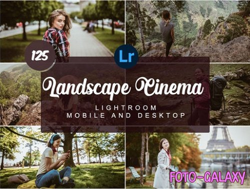 Landscape Cinema Mobile and Desktop Presets