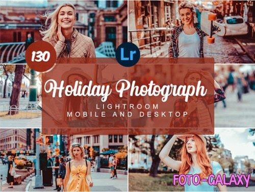 Holiday Photograph Mobile and Desktop Presets