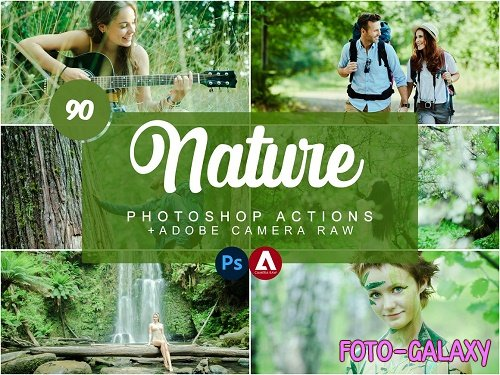 CreativeMarket - Nature Photoshop Actions 5733426