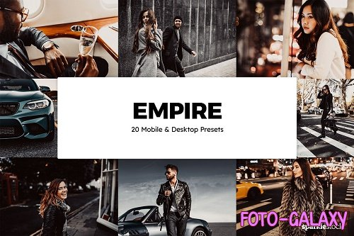20 Empire Lightroom Presets & LUTs - 5910810